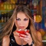 Donna in un pub