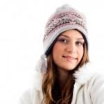 ragazza con berretto