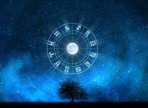 Tema Natale: l'Ariete, il Sole e la Luna